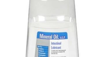 Avoid dangers of using Mineral oil
